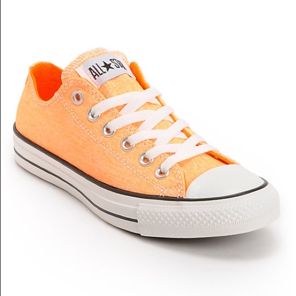 9a846a8084d2 Converse Shoes - Converse Chuck Taylor All Star Neon Orange Shoes
